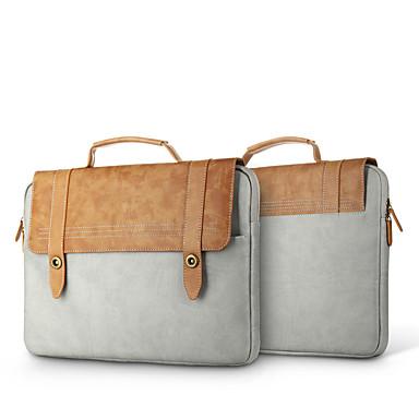 Handtaschen Ärmel für Volltonfarbe PU-Leder Das neue MacBook Pro 13