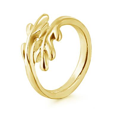 Pentru femei Band Ring - Aliaj Modă Ajustabil Auriu / Argintiu Pentru Nuntă / Petrecere / Zilnic