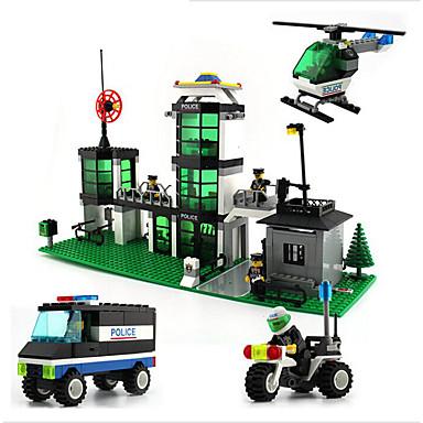 Sluban Stavební bloky Hračky Policie ABS Dětské Pieces