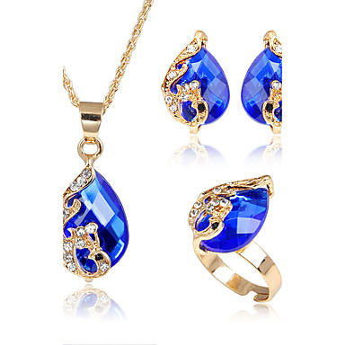 Women's Jewelry Set - Animal Fashion, Euramerican Include Red / Green / Blue For Party