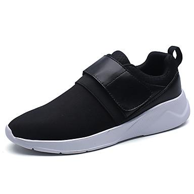 Miesten kengät PU Kevät Syksy Comfort Urheilukengät varten Kausaliteetti Valkoinen Musta Punainen