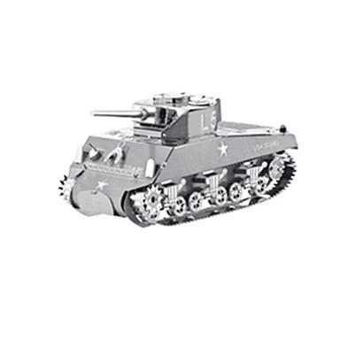3D - Puzzle Holzpuzzle Modellbausätze Panzer Kriegsschiff Flugzeug 3D Heimwerken Edelstahl Metal