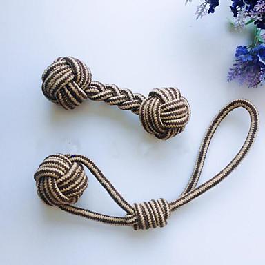 Kauknochen für Katzen Kauspielzeug für Hunde Faltbar Seil Verstellbar Leicht zu installieren Polyester Für Hund Welpe