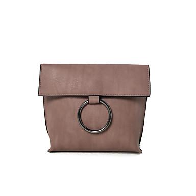Damen Taschen PU für Grün Schwarz Grau Pinky