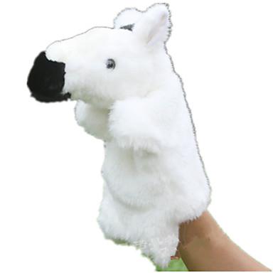 Fantoches de dedo Fantoches Brinquedo Educativo Brinquedos Cavalo Animal Fofinho Animais Adorável Tactel Felpudo Crianças Peças