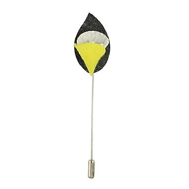 Damen Broschen Basis Einzigartiges Design Aleación Ovale Form Blumenform Schmuck Für Normal