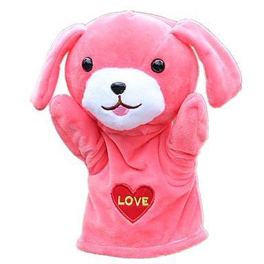 Fantoches Fantoche Brinquedos Cachorros Fofinho Adorável Tecido Felpudo Felpudo Crianças Peças