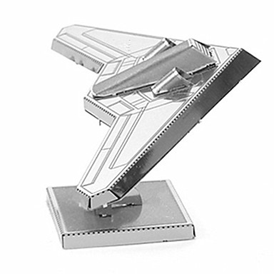 3D - Puzzle Metallpuzzle Spielzeuge Flugzeug Metal Unisex Stücke