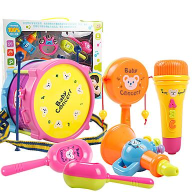 Acessório para Casa de Boneca / Brinquedo Educativo Bateria Plásticos Crianças Dom