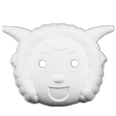 Halloweenské masky Masky zvířat Maska animovaná Hračky Zvíře Jídlo a nápoje Pieces Unisex Dárek