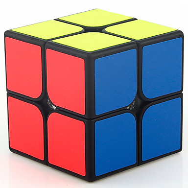 Rubik's Cube MoYu 2*2*2 Smooth Speed Cube Magic Cube Educational Toy Stress Reliever Puzzle Cube Smooth Sticker Gift Unisex