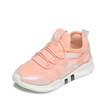 Tyttöjen kengät Tyll Kevät Kesä Urheilukengät Jouksu Kuminauhalla Käyttötarkoitus Valkoinen Musta Pinkki