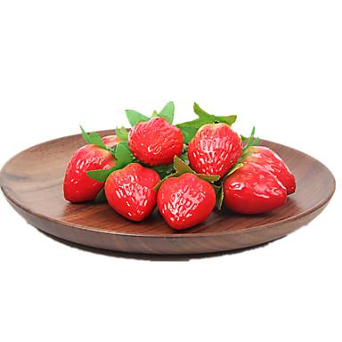 Brinquedos de Faz de Conta Cortadores de Frutas e Vegetais Frutas e Vegetais Morango Plásticos Unisexo Dom