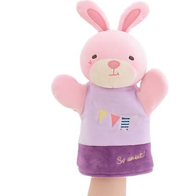 Fantoches de dedo Rabbit Animais / Adorável Tactel Crianças Dom
