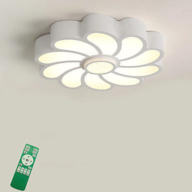 Chic & Moderne Takplafond Omgivelseslys - Pære Inkludert, 220-240V, Dimbar med fjernkontroll, LED lyskilde inkludert