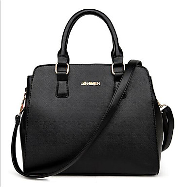 Women Bags All Seasons PU Shoulder Bag for Casual Outdoor Blue Black Fuchsia