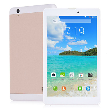 8 inch 1280*800 IPS Android 4.4 Quad core  2GB 16GB 3G Phablet Tablet 2.0/2.0 MP Camera GPS-Golden