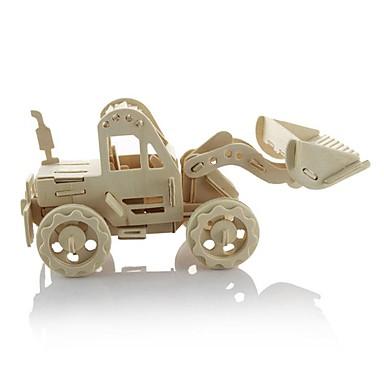 3D-puslespill Puslespill i tre Tre Modell Bil Gravemaskin 3D GDS 3D Tre Klassisk 3-6 år