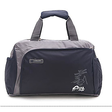 Women Bags All Seasons Oxford Cloth Polyester Travel Bag with for Casual Outdoor Black Deep Blue Red