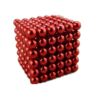 216 pcs 5mm Magnet Toy Building Blocks / Puzzle Cube / Neodymium Magnet Alloy Magnetic Teen / Adults' Gift