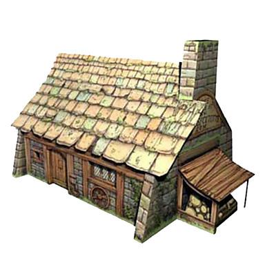 Quebra-Cabeças 3D Construções Famosas Casa Arquitetura Faça Você Mesmo Cartão de Papel Duro Crianças Para Meninos Unisexo Dom