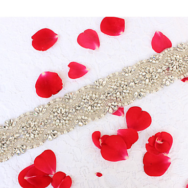 Acrílico Casamento Ocasião Especial Halloween Aniversário Graduação Festa / Noite Dia a Dia Reunião de Classe Bolsa de Mão Faixa With