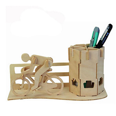 3D Puzzles Metal Puzzles Wood Model Model Building Kit Others DIY Natural Wood Classic Kid's Adults' Unisex Gift