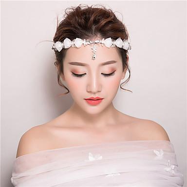 krystall rhinestone hodebånd hode kjede headpiece elegant stil