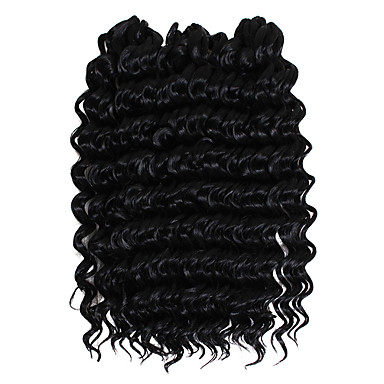 savana hair extensions 3pcs/pack deep wave savanna jerry deep curly 10inch free tress crochet braiding hair freetress crochet deep weave weft
