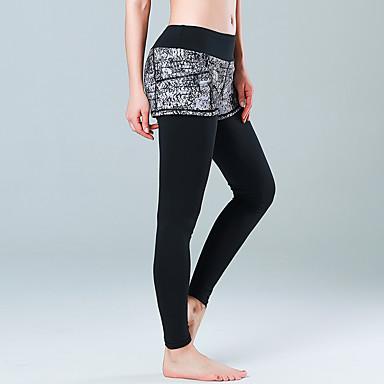 Yogabukser Tights Bunner Fitness, Løping & Yoga Fort Tørring Bekvem Pusteevne Naturlig Elastisk Drakter Dame CONNY Yoga & Danse Sko