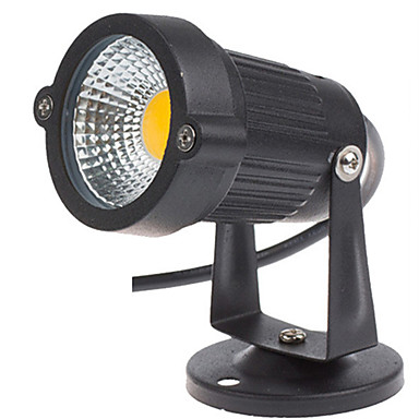 1db 3 W LED projektorok / Lawn Lights Vízálló / Dekoratív Meleg fehér / Hideg fehér 12 V / 85-265 V Kültéri világítás / Udvar / Kert