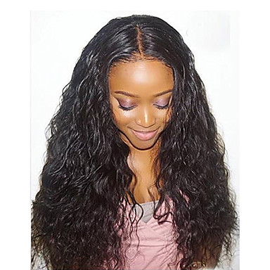 Remy Human Hair Glueless Lace Front Lace Front Wig Brazilian Hair Loose Wave Wig 130% 150% Density with Baby Hair Natural Hairline African American Wig 100% Hand Tied Women's Short Medium Length Long