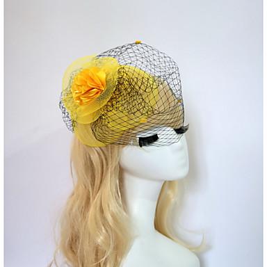 harpiks bomull fascinators blomster headpiece klassisk feminin stil