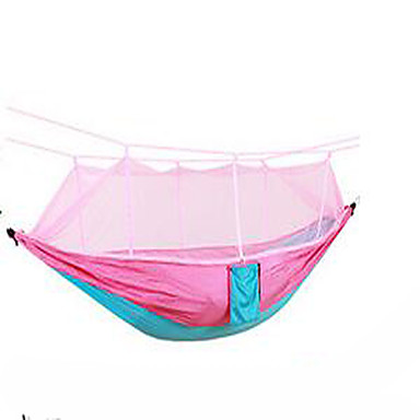 Camping Hammock with Mosquito Net Anti-Mosquito Nylon for Camping / Hiking Outdoor