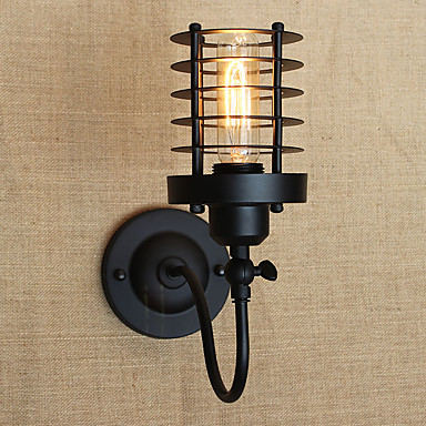Vintage Country Wall Lamps & Sconces For Metal Wall Light 110-120V 220-240V 40W