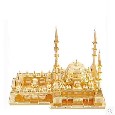 voordelige 3D-puzzels-3D-puzzels Legpuzzel Metalen puzzels Beroemd gebouw DHZ Metallic Aluminium Klassiek Volwassenen Unisex Speeltjes Geschenk