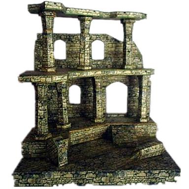 Quebra-Cabeças 3D Maquetes de Papel Artesanato de Papel Brinquedos de Montar Construções Famosas Arquitetura Simulação Faça Você Mesmo