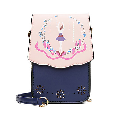 Women's Bags PU Crossbody Bag for Casual Summer All Seasons Blushing Pink