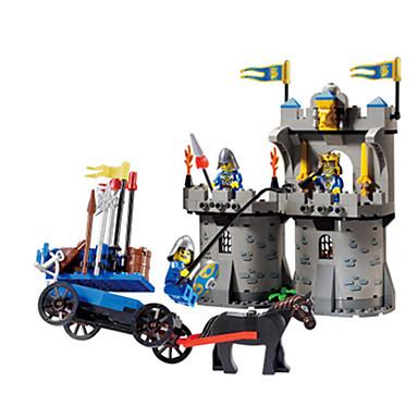 ENLIGHTEN Blocos de Construir Castelo Para Meninos Unisexo Dom