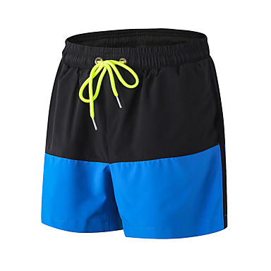 Men's Running Shorts Fitness, Running & Yoga Quick Dry Breathable Casual/Daily 3/4 Tights Casual Exercise & Fitness Running Outdoor Indoor