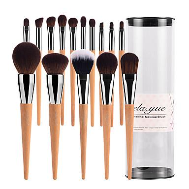 15pcs Makeup Brushes Professional Makeup Brush Set / Blush Brush / Eyeshadow Brush Synthetic Hair / Artificial Fibre Brush Big Brush /