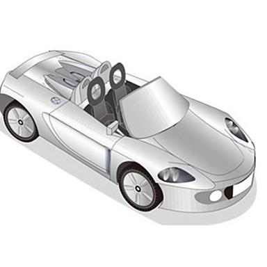 Carros de Brinquedo Quebra-Cabeças 3D Maquetes de Papel Quadrada Faça Você Mesmo Cartão de Papel Duro Clássico todas as Idades