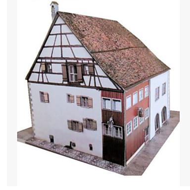 3D Puzzles Paper Craft Toys Square Famous buildings Architecture 3D DIY Hard Card Paper Unisex Pieces