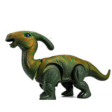Iluminação de LED Blocos de Construir Brinquedos de Montar tiranossauro Dinossauro Animais Caminhada Tamanho Grande Simulação Elétrico