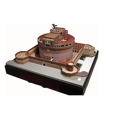 Quebra-Cabeças 3D Maquetes de Papel Artesanato de Papel Brinquedos de Montar Castelo Construções Famosas Arquitetura 3D Faça Você Mesmo