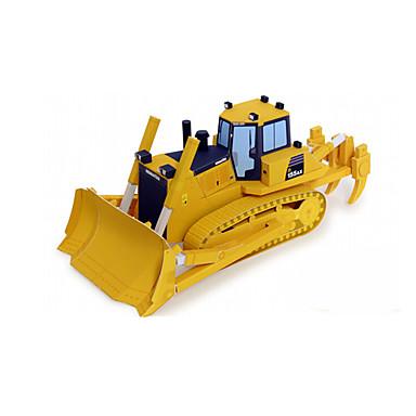 Toy Cars 3D Puzzles Jigsaw Puzzle Paper Craft Construction Vehicle Dozer Toys Forklift 3D DIY Unisex Pieces