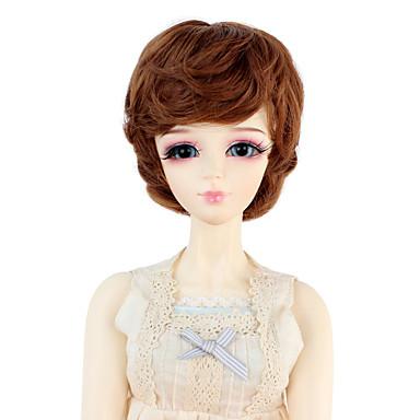Perucas sintéticas Ondulado Mulheres boneca peruca