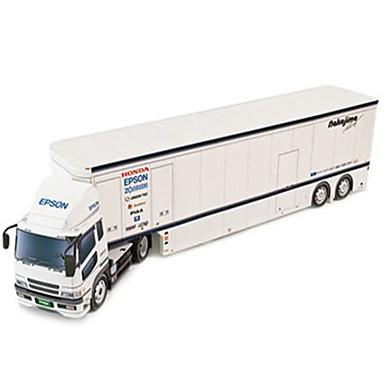Quebra-Cabeças 3D Maquetes de Papel Caminhão Faça Você Mesmo Cartão de Papel Duro Caminhão Crianças Unisexo Dom