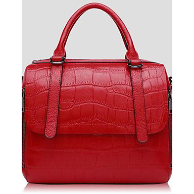 Women Bags All Seasons Cowhide Shoulder Bag with for Casual Outdoor Blue Red Purple