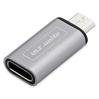 Micro USB 2.0 Adaptador, Micro USB 2.0 to USB 2.0 Tipo C Adaptador Macho-Fêmea
